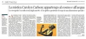 Carolyn Carlson Corriere Crippa
