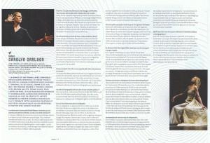 Article paru dans la revue Noto de janvier par Odile Lefranc